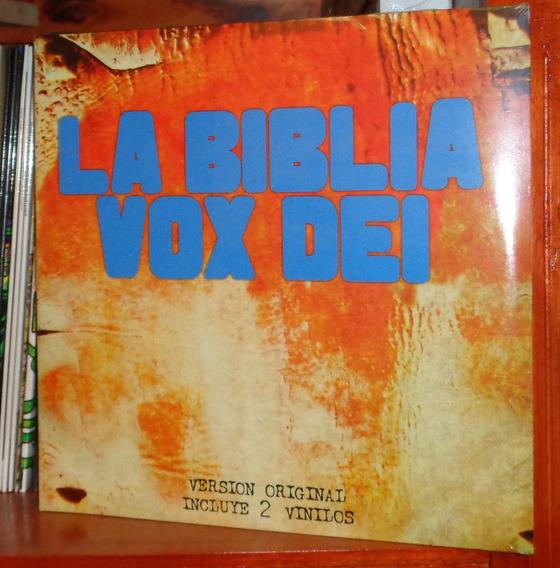 Vox Dei - La Biblia - 2 Lps Nuevo Cerrado Canada