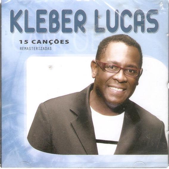 Cd Kleber Lucas - 15 Canções - Som Gospel - Novo Lacrado***