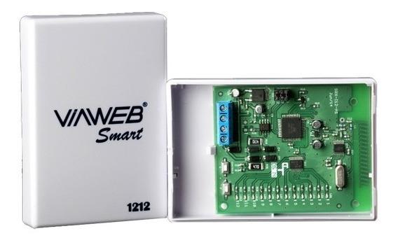Receptora Smart 1212 Viaweb System Para Sensores Sem Fio