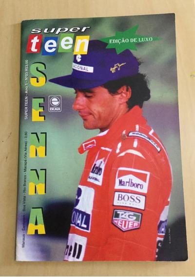 Super Teen - Nº 3 - Edição De Luxo - Ayrton Senna