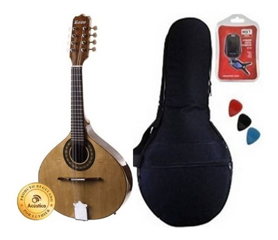 Rozini Bandolim Afinador Bag Palhetas Acústico Rb21acn
