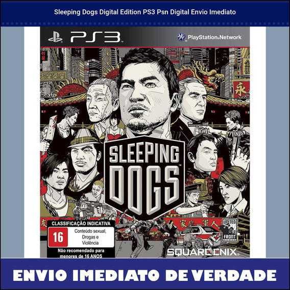 Sleeping Dogs Digital Edition Ps3 Psn Digital Envio Imediato