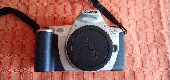 Câmera Canon Eos 300 Analógica Lente Canon 28-90+sigma70-300