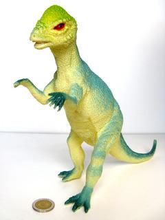 Dinosaurio Goma N01 Pachycephalosaurus Mediano Juguetes