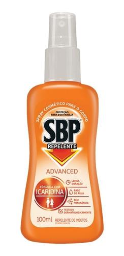 Repelente Em Spray Sbp Icaridina 100ml