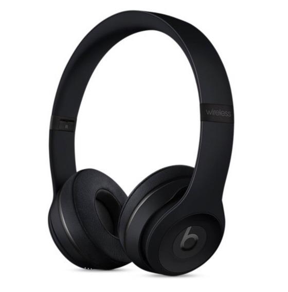 Fone De Ouvido Beats Solo 3 Wireless Preto Fosco Apple Novo