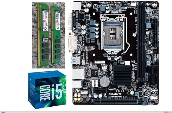 Kit I5-6400 8gb Ddr3
