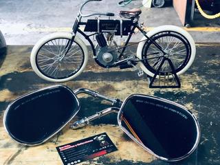 Espejos Para Harley Davidson Cromados