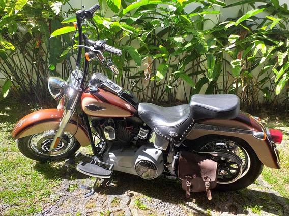 Harley Davidson Heritage 2009 Custom Em Excelente Estado