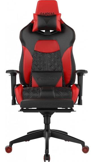 Cadeira Gamer Rgb Gamdias Achilles P1 L Black-red 200kg - Nfe
