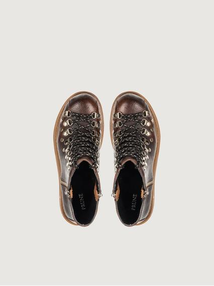 Borcego Zapato Mujer Nek Prune Moda 2019