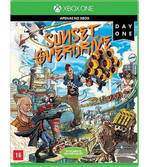 Sunset Overdrive Edição Day One Xbox One Nacional Lacrado Rj