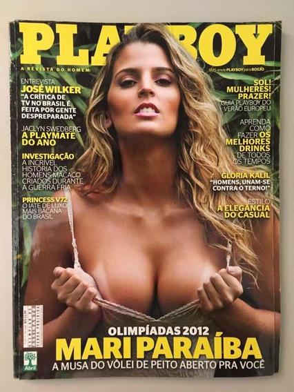 Playboy Mari Paraíba, Julho/2012, Ed 446
