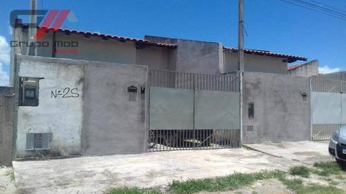 Casa Com 2 Dormitórios À Venda, 140 M² Por R$ 70.000,00 - Alberto Ronconi - Tremembé/sp - Ca0377