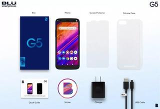 Blu G5 2gb Ram 32gb Rom 90verds Nuevos +forro+vidrio