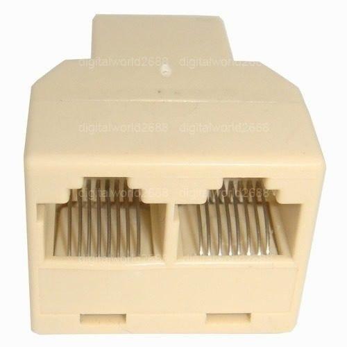 Switch Duplicador Rj45 Splitter Para Conexiones De Red