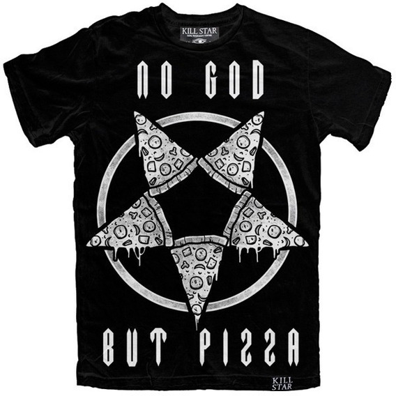 Killstar No God But Pizza Pizzagram Talla S. Pastel Goth