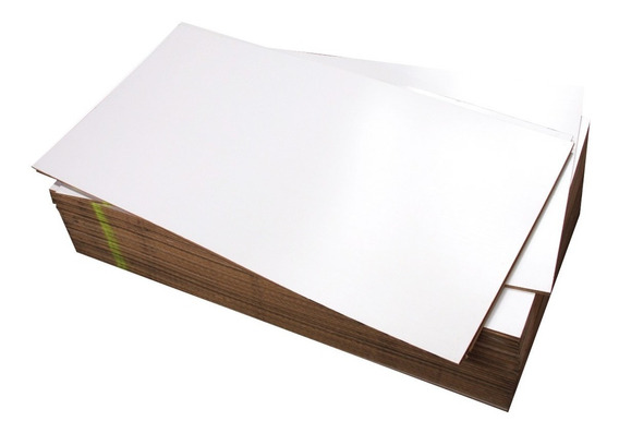 Lámina De Melamina Mdf Blanco Doble Cara 1.22 X 2.44 15 Mm