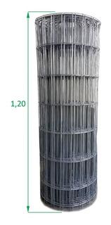 Tela Soldada De 1,2 X 25,00 Metros Fio 2,3