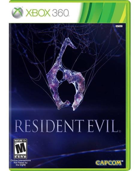 Game Xbox 360 Resident Evil 6 - Original - Novo - Lacrado