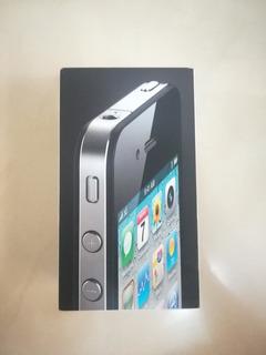 Solo La Caja iPhone 4 Negro 32gb