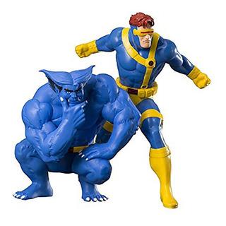 Artfx+ X-men Cyclops Beast 2-pack Kotobukiya - Robot Negro