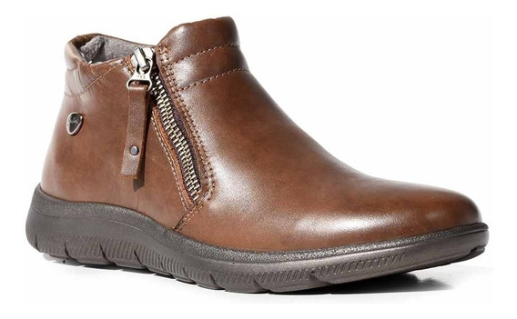Botineta Cuero Mujer Cavatini Confort Bota Zapato Mcbo24630