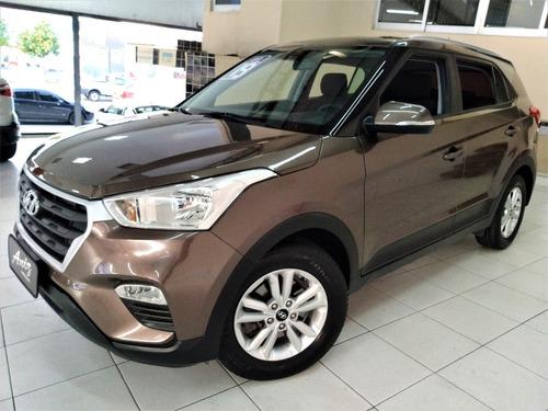 Hyundai Creta Smart 1.6 Flex Marrom Automatico 2019