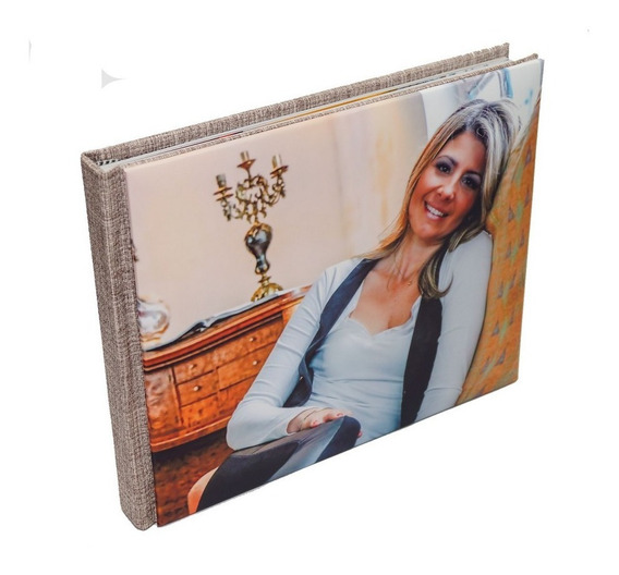 Album Encadernado Meia Capa 20x25 - 15 Lâminas
