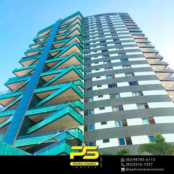 Apartamento Com 4 Dormitórios À Venda, 245 M² Por R$ 1.100.000 - Bessa - João Pessoa/pb - Ap3238