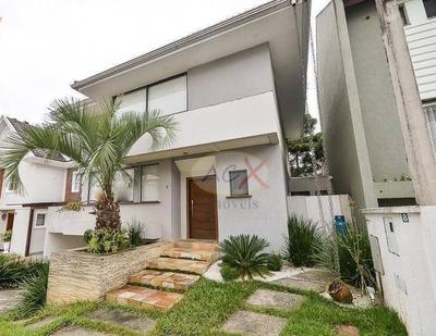 Casa Com 4 Dormitórios À Venda, 197 M² Por R$ 950.000 - Santa Felicidade - Curitiba/pr - Ca0137