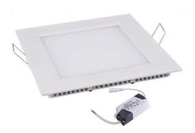6 Plafon Led 6w Luminaria Embutir Painel Teto Spot 12 X 12