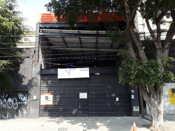 Galpão No Bairro Pinheiros, Próximo A Avenida Rebouças, 940 M2 De Área Útil. - Ga0073at