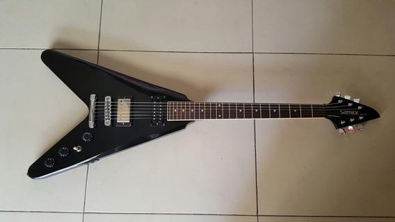 Guitarra Samick Flying V Koreana (fender, Gibson, Jackson)