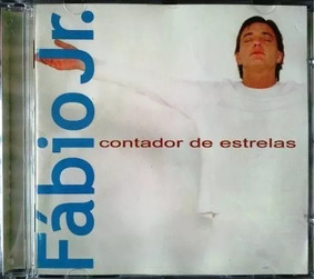 Cd Fábio Júnior Kit Com 2x Cd Original Contador Estrelas