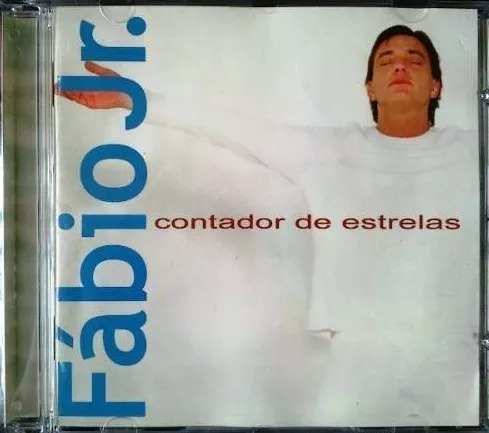 Cd Fábio Júnior Kit Com 2x Cd Original Contador Estrelas