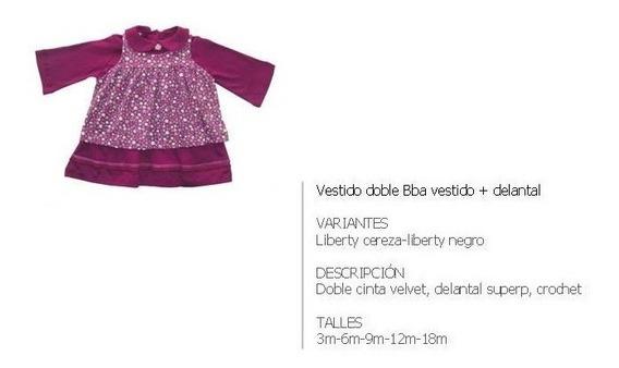 Curva Completa De Vestidos De Algodón Otoño Invierno Bebés