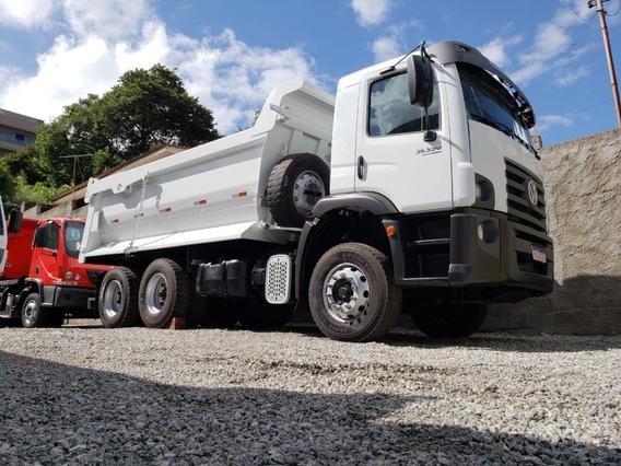 Caminhão Caçamba Basculante Traçado Vw 31-330 6x4 Ano 2014