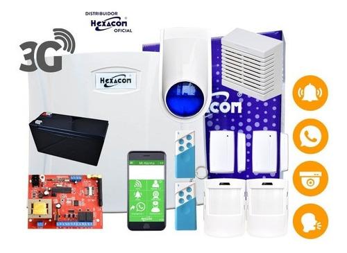 Kit Alarma Inalámbrica Gsm Acuda H210, Lista Para Instalar