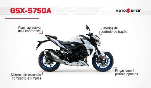 Imagem 1 de 10 de Suzuki Gsx-s750 Za Okm 2022