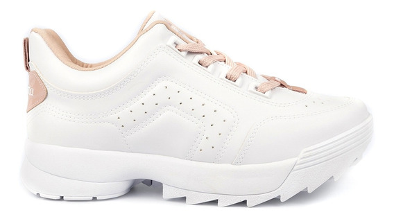 Tênis Dad Sneaker Dakota Tratorado Branco