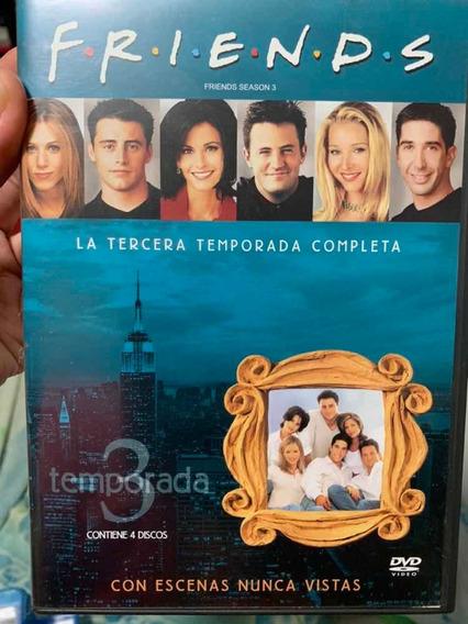 Dvd Friends Temporada 3