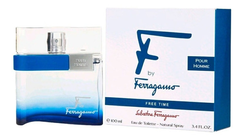 Perfume Salvatore Ferragamo Free Time - mL a $1380
