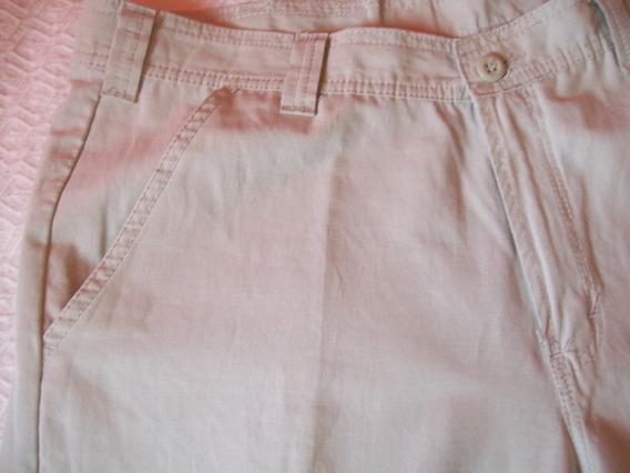 Pantalon Bermuda Hombre Casual Talle 50