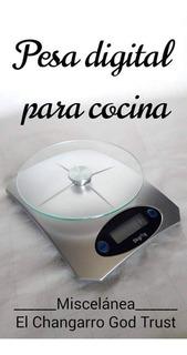 Pesa, Balanza Ó Báscula Digital Para Cocina.nueva. Marca Ma