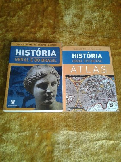 História Geral E Do Brasil ( Cláudio Vicentino )