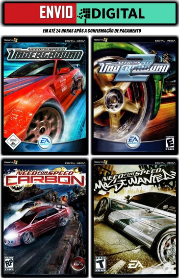 Need For Speed Collection [4 Jogos Para Pc] Envio Digital