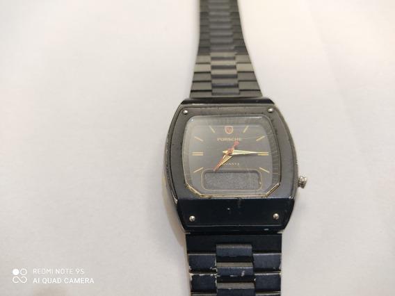 Relógio Porshe A Quartzo Antigo