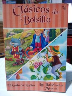 Clásicos De Bolsillo El Gato Con Botas Las Habichuelas Magic