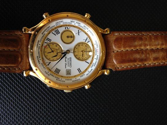 Relógio Seiko Vintage - Age Of Discovery,5t52-7a11